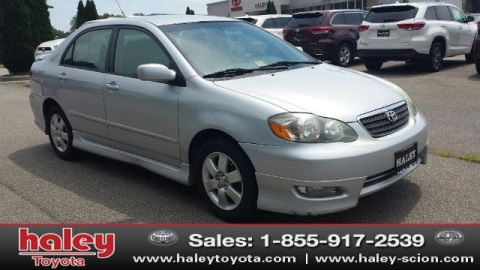 Pre-Owned 2007 Toyota Corolla S FWD 4 Door  Sedan