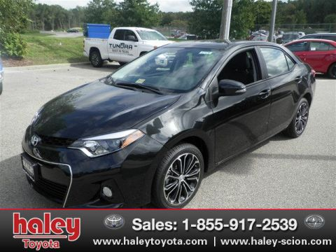 New 2016 Toyota Corolla S Plus FWD 4 Door  Sedan