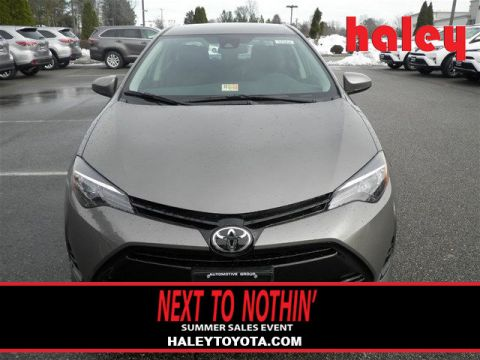 New 2017 Toyota Corolla LE 4 Door