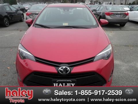 New 2017 Toyota Corolla LE FWD 4 Door  Sedan