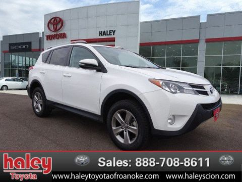 Certified Pre-Owned 2015 Toyota RAV4 XLE FWD  Door  SUV