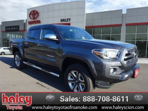 Certified Pre-Owned 2016 Toyota Tacoma Limited V6  Door  4WD