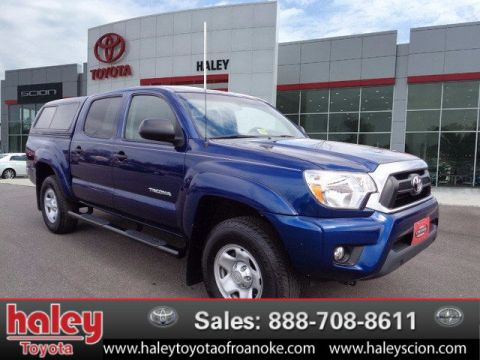 Certified Pre-Owned 2015 Toyota Tacoma PreRunner V6 RWD  Door  Truck
