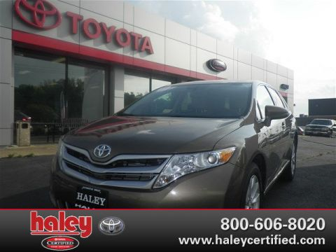 Pre-Owned 2013 Toyota Venza LE With Alloys Back-Up Camry & Bluetooth FWD SUV