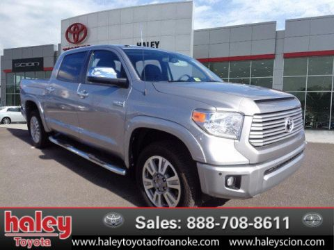 Certified Pre-Owned 2015 Toyota Tundra Platinum 5.7L V8  Door  4WD