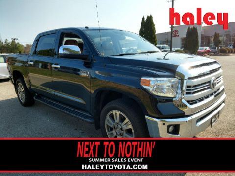 Certified Pre-Owned 2014 Toyota Tundra 794 4 Door CrewMax With Navigation & 4WD