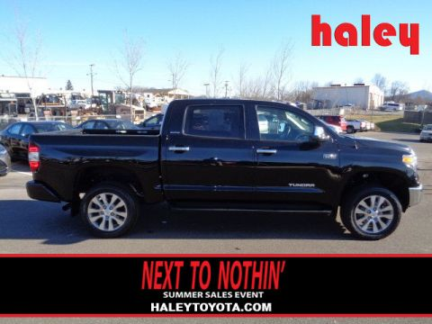 Pre-Owned 2015 Toyota Tundra Limited 5.7L V8 4 Door CrewMax 4WD