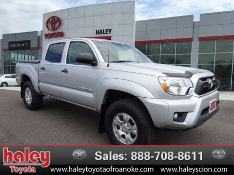 Certified Pre-Owned 2013 Toyota Tacoma V6  Door $32845.00 4WD