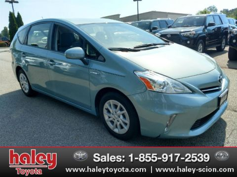 Pre-Owned 2013 Toyota Prius v Two FWD 4 Door  Wagon