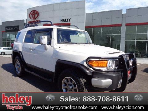 Certified Pre-Owned 2012 Toyota FJ Cruiser   Door  4WD