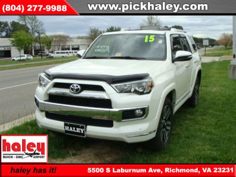 Pre-Owned 2015 Toyota 4Runner Limited  Door  With Navigation & 4WD
