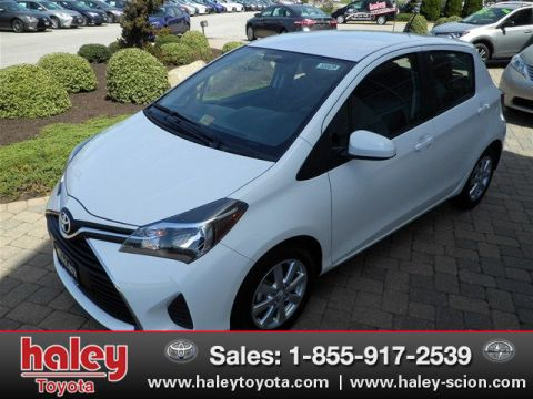 New 2016 Toyota Yaris LE FWD 5 Door  Liftback