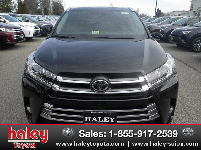 new 2017 toyota highlander limited platinum v6 suv in midlothian h58556 haley toyota of richmond. Black Bedroom Furniture Sets. Home Design Ideas